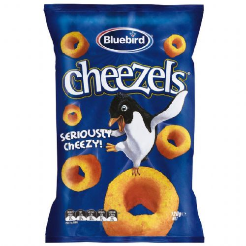 Bluebird Cheezels (120g) ( New Zealand )
